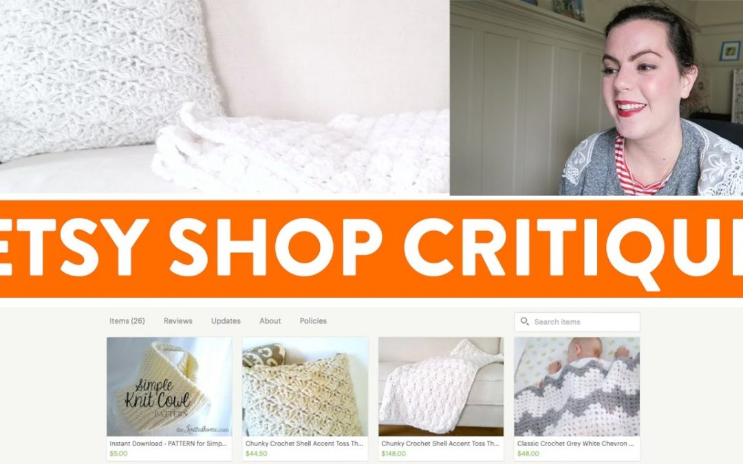 ETSY SHOP CRITIQUE #3 | Tips on SEO and Tweaks to Text