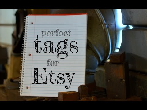 Etsy Tags Tips: Using Etsy Keywords for your Listings of Your Blacksmithing Projects