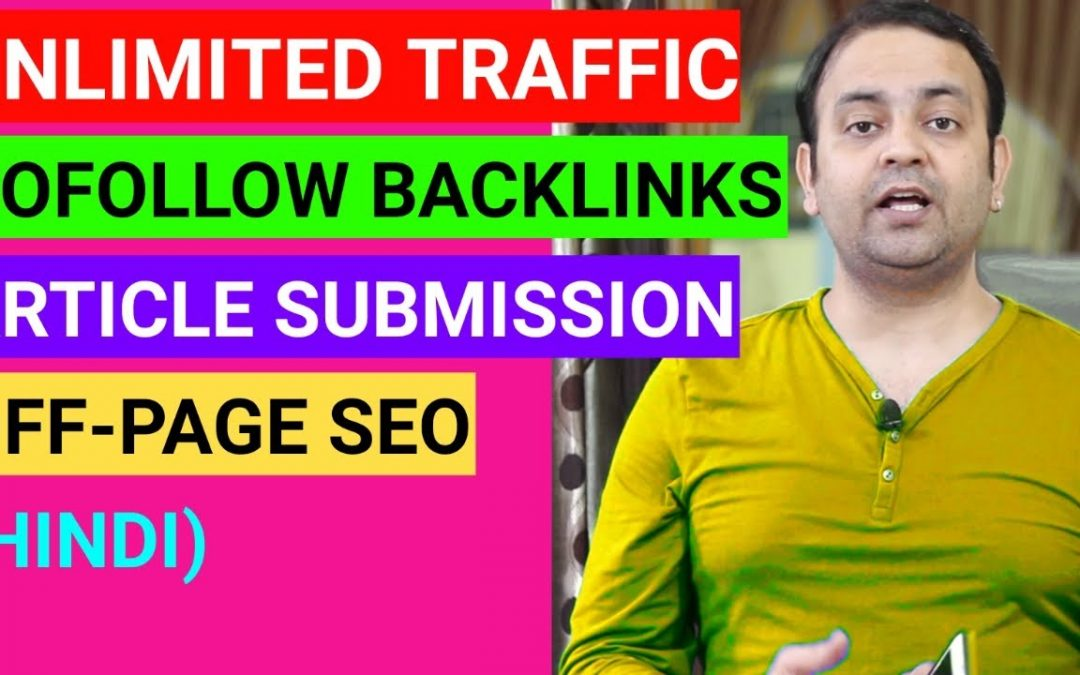 search engine optimization tips – Free article submission sites with instant approval | Off page SEO techniques | Techno Vedant