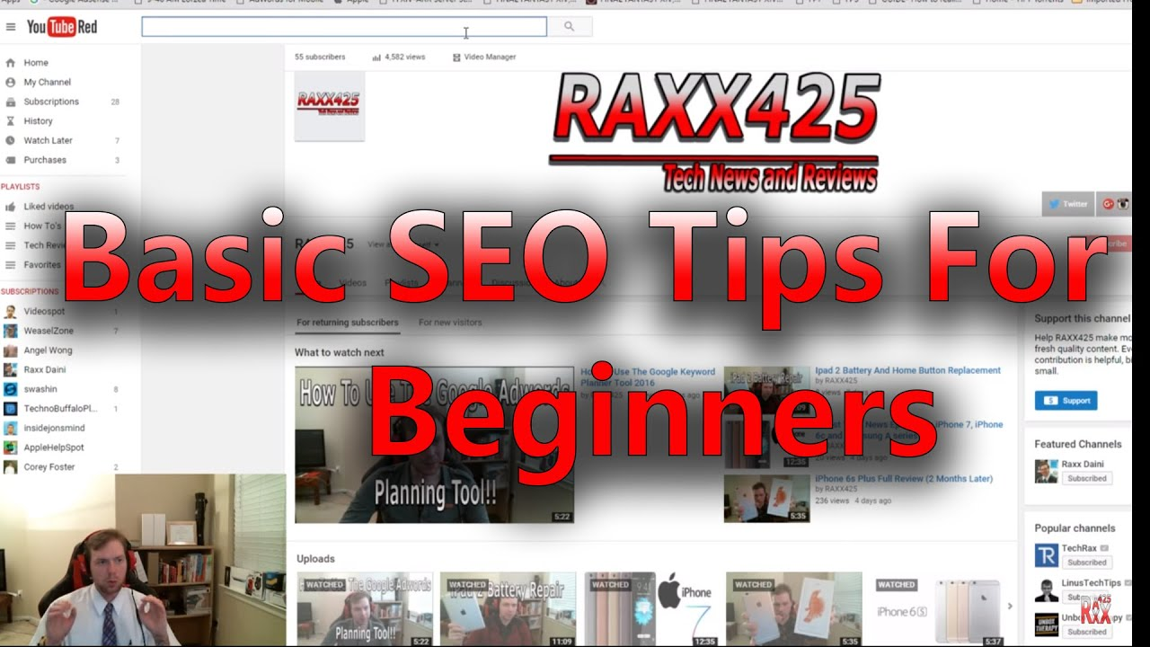 How To Optimize Your YouTube Videos With SEO Tips For Beginners
