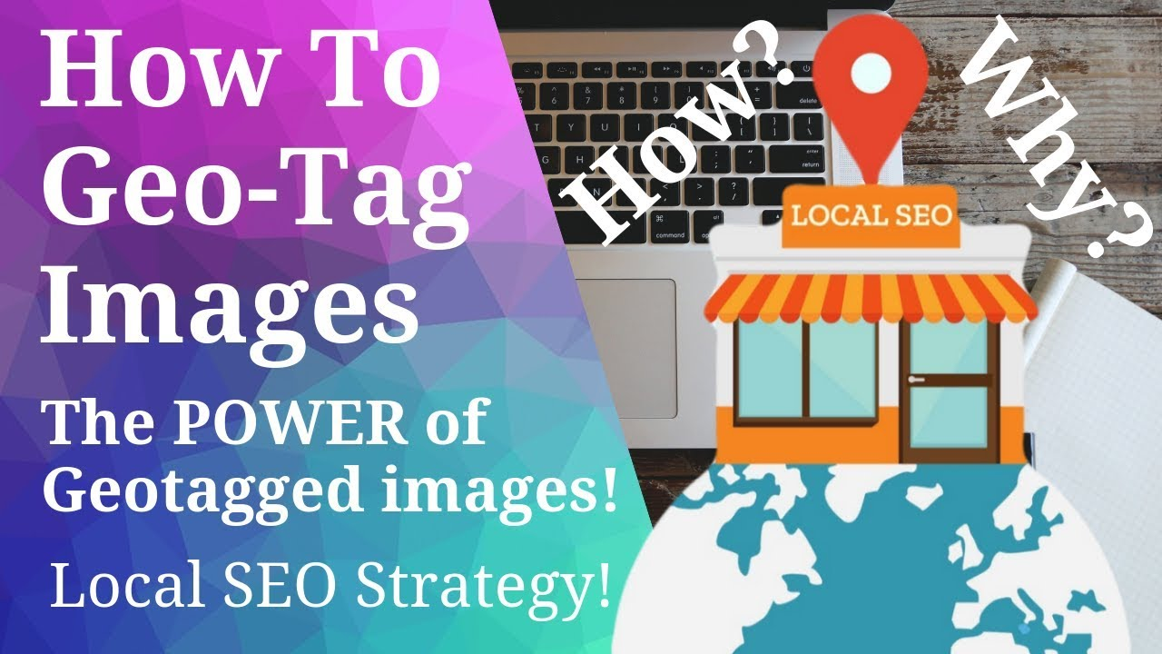 How to Geotag Images for Local SEO - (Fast, Bulk upload) 2020