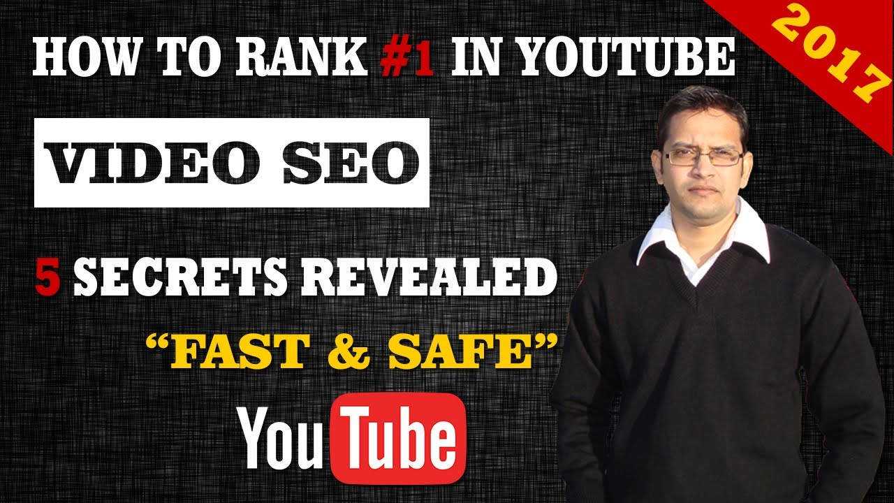 How to Rank Videos on YouTube 2017  - 5 YouTube  SEO TIPS -  in Hindi