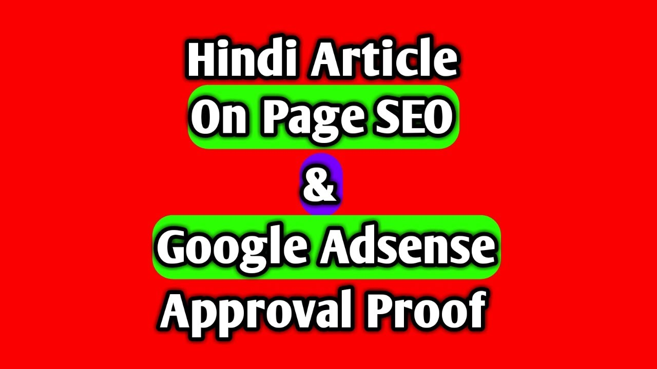 How to write SEO friendly Hindi & Hinglish article | on page SEO & keyword placement tips in Hindi