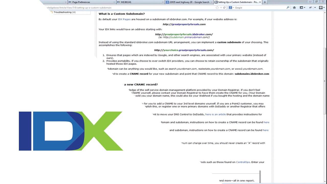 IDX Broker Platinum for Developers: Search Engine Optimization