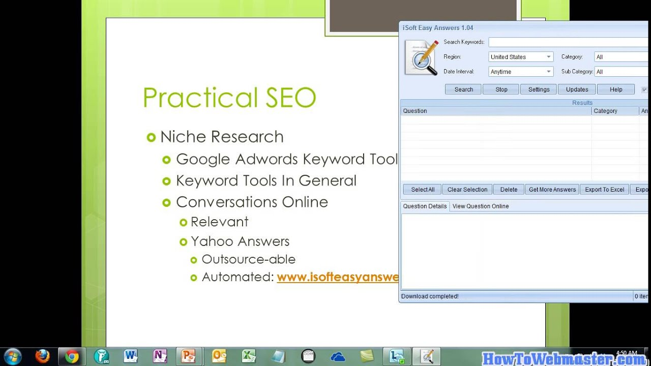 Part 11 SEO Content Research - Tutorial on Search Engine Optimization