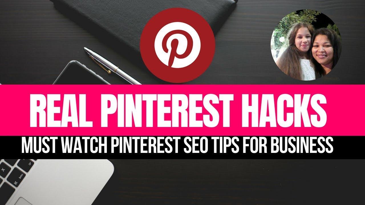 Pinterest Hacks|MUST WATCH Pinterest SEO Tips For Business