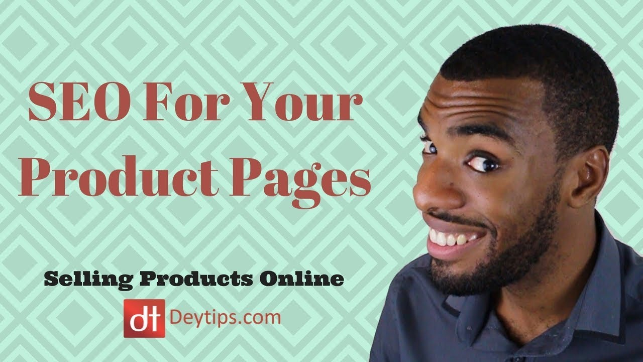 SEO For your product pages | eCommerce SEO