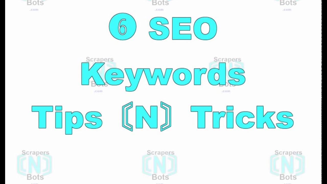 SEO Keywords Tips Tricks Best Practices with SEO Keywords
