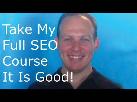 SEO course: Learn SEO (search engine optimization) marketing with my online SEO training course