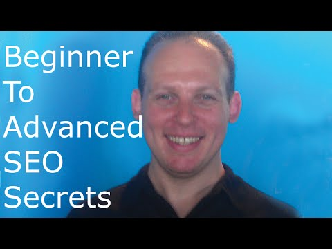 SEO search engine optimization training tutorial beginner and advanced