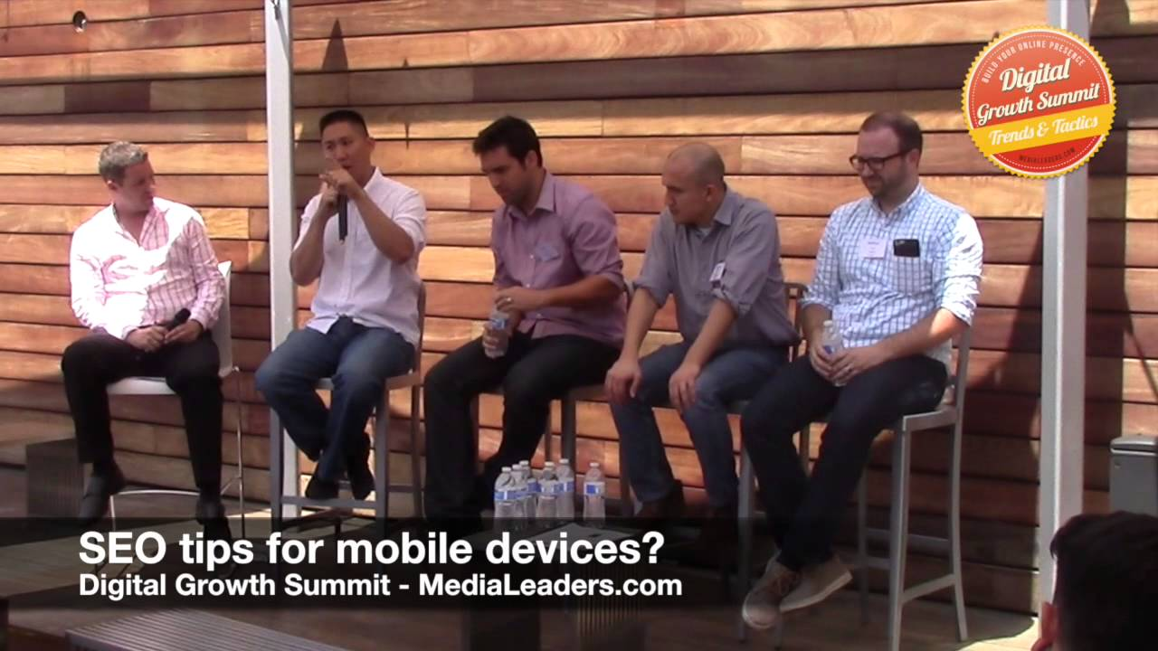 SEO tips for mobile devices (DGS3 Recap)