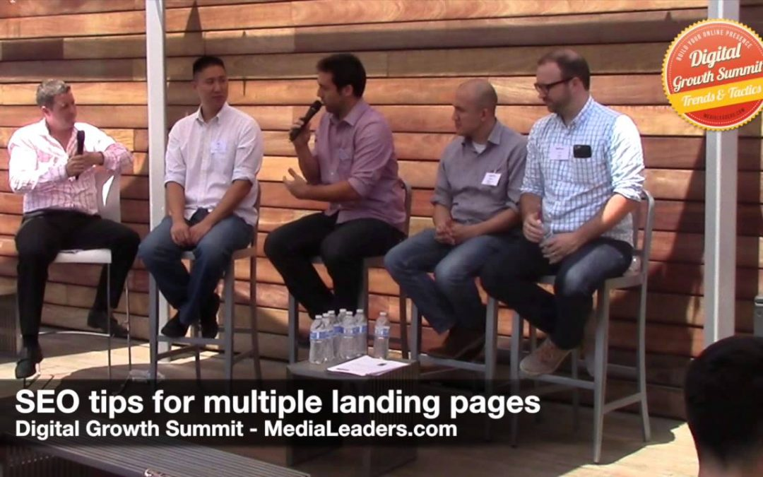 search engine optimization tips – SEO tips for multiple landing pages (DGS3 Recap)