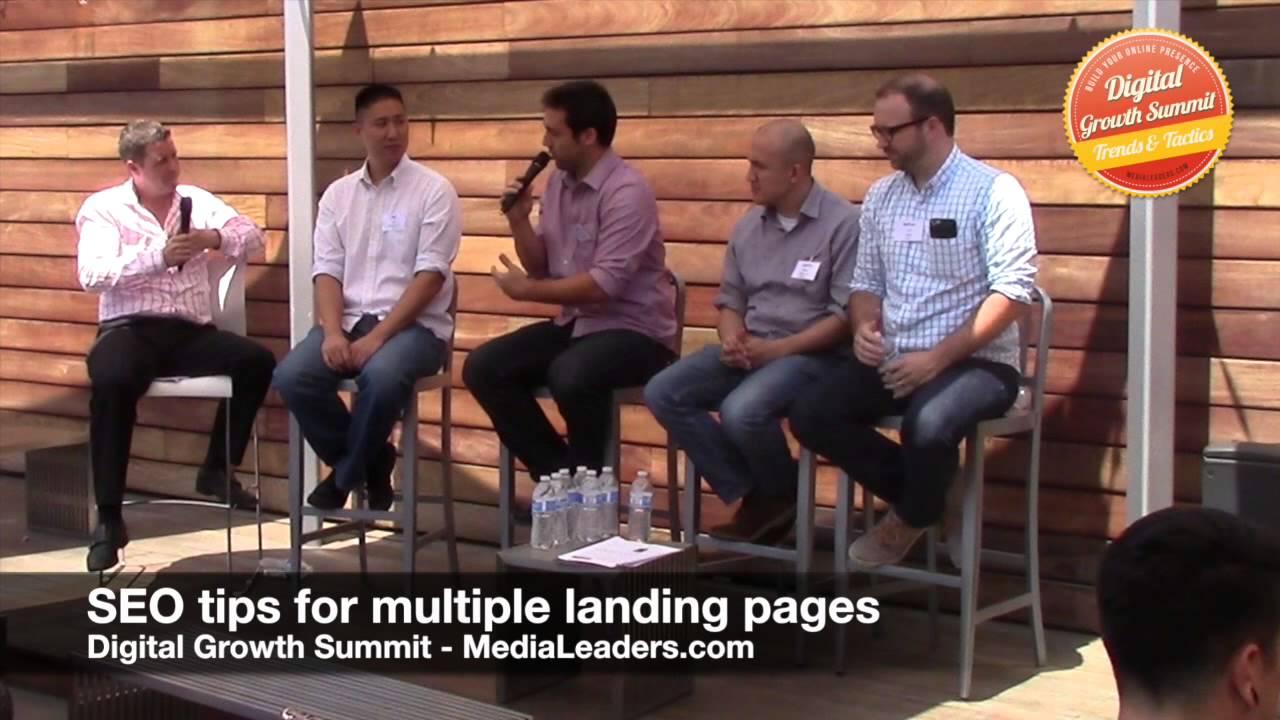 SEO tips for multiple landing pages (DGS3 Recap)