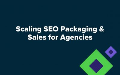 search engine optimization tips – Scaling SEO packaging & sales for agencies
