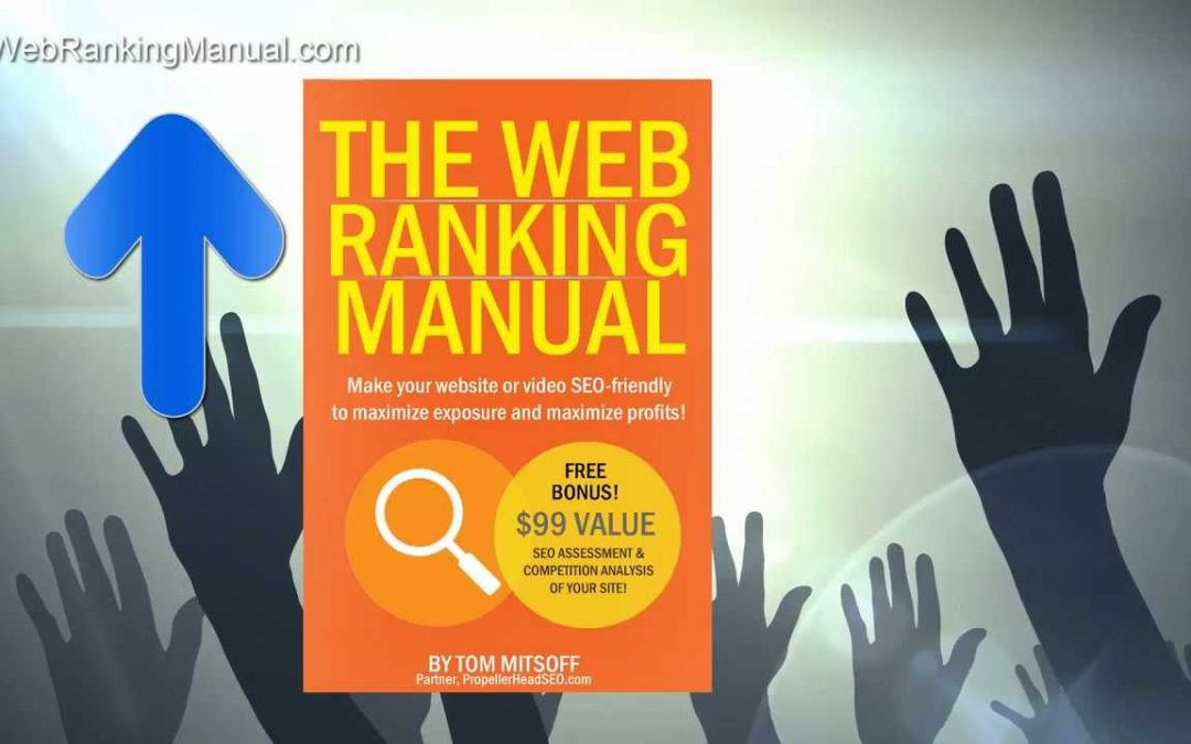 Search engine optimization starter guide: Kindle bestseller 'The Web Ranking Manual'