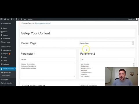 Site Ranker Pro Review Demo - Search Engine Optimization Plugin
