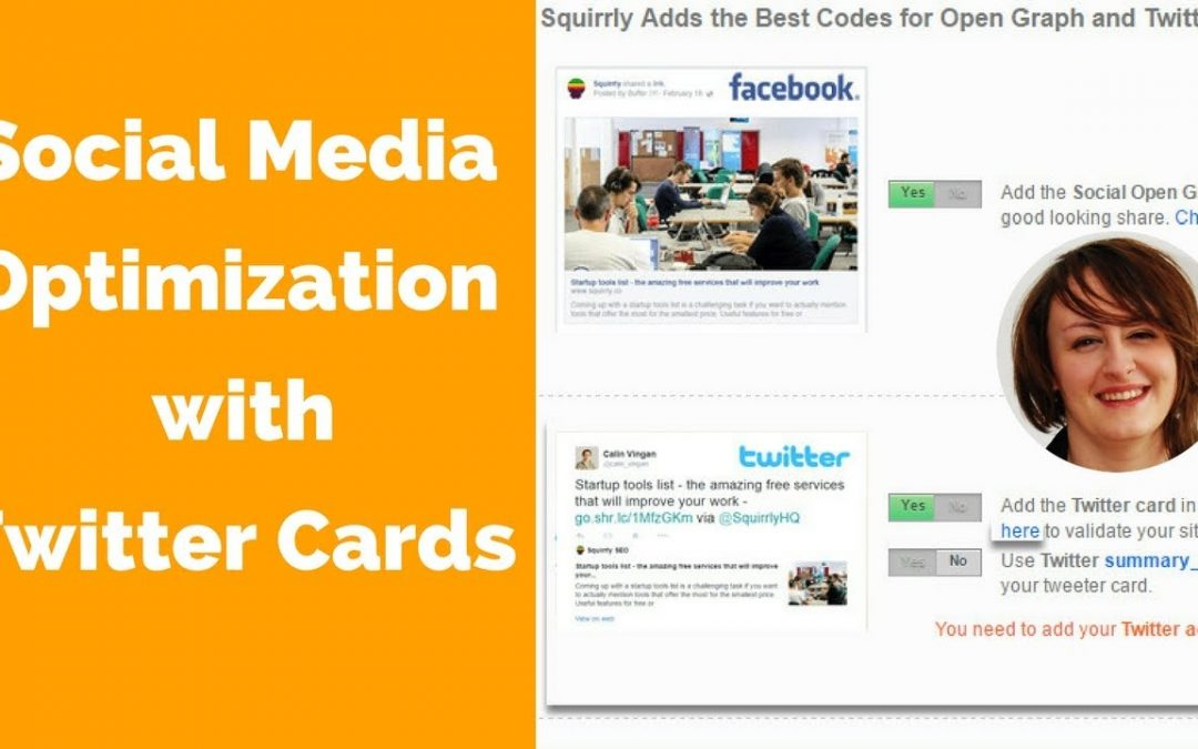 Social Media Optimization Tips, An Eye Catching Site with Twitter Cards Wordpress
