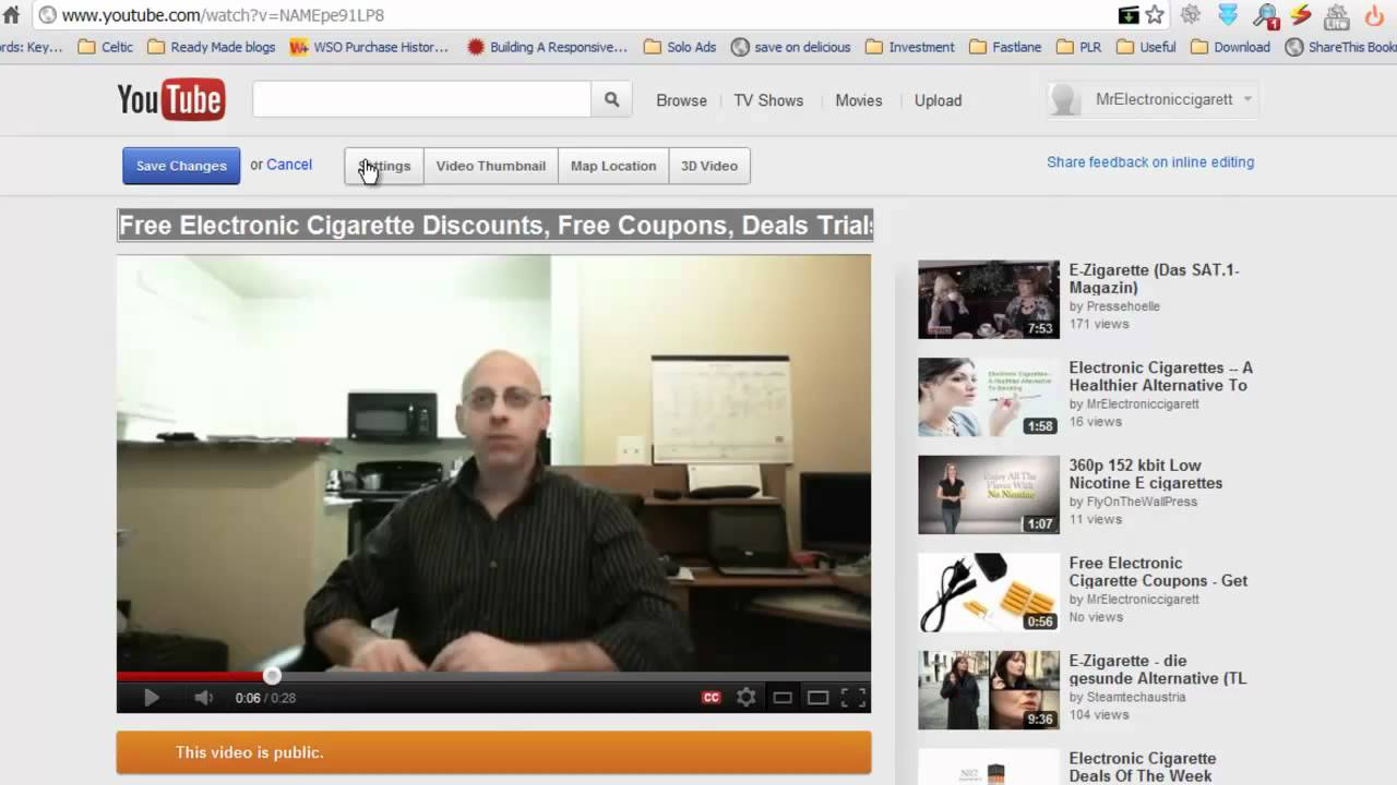 Super Simple Marketing Video 1 - Creating Video, Optimising Video and Easy Backlinks