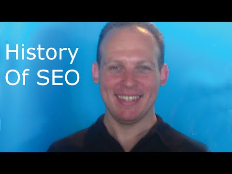 The history of search engines, search and SEO (search engine optimization) from 90s to present
