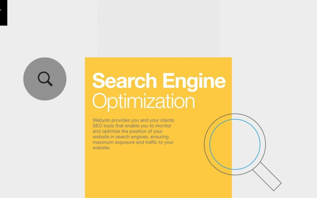 Webydo Tutorial: Search Engine Optimization