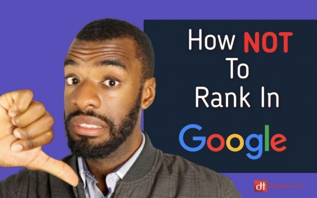 search engine optimization tips – Why Your SEO Will Fail! | Search Engine Optimisation Mistakes To Avoid