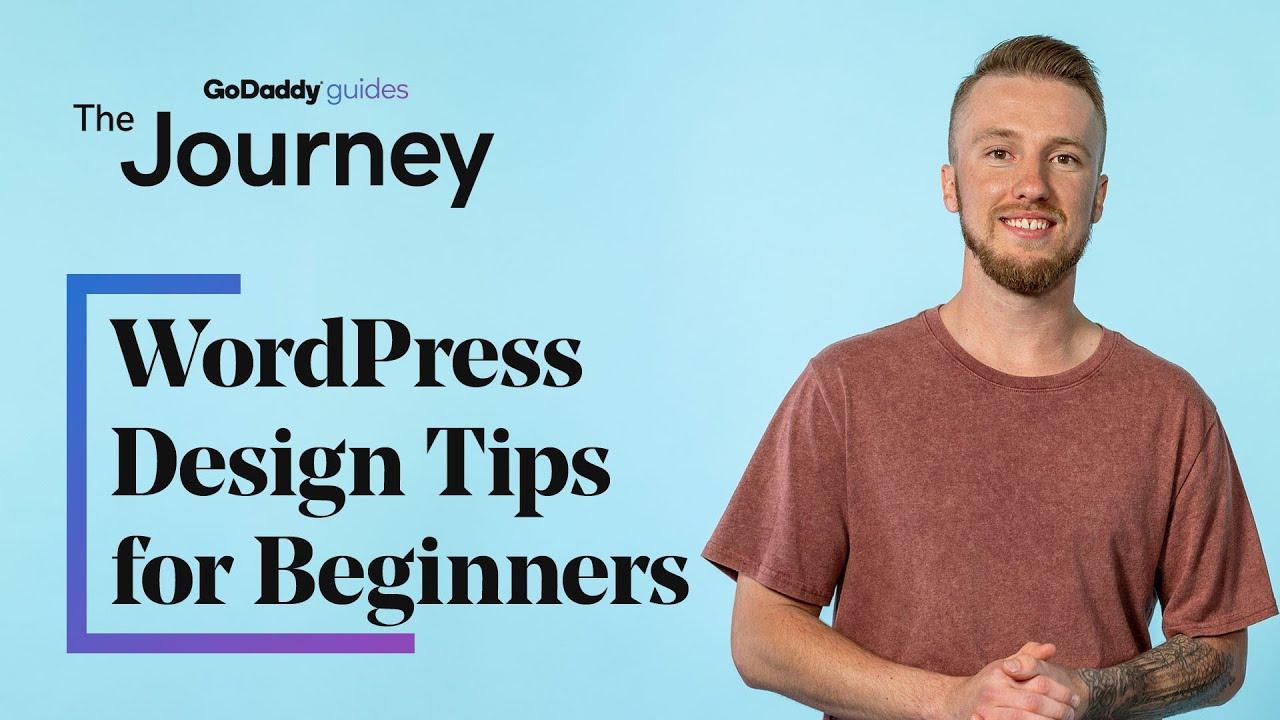 WordPress Design Tips for Beginners
