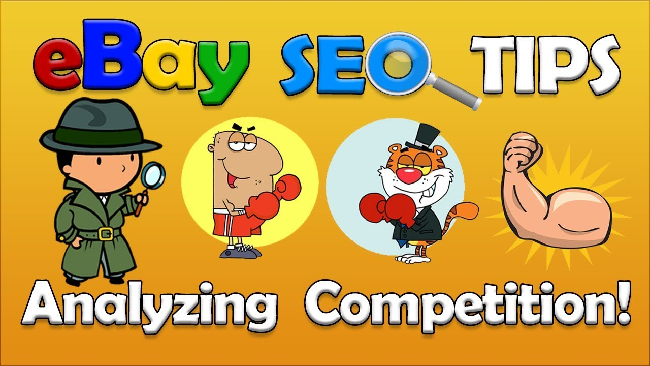 eBay SEO - eBay Competition Analysis Made Easy