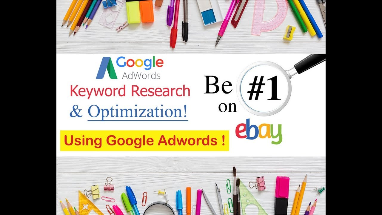 Search Engine Optimization Tips Ebay Title Seo Optimization Using Google Adwords Title Keyword Generator 2019 Dieno Digital Marketing Services