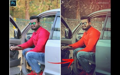 Brown Moody Effect Photo Editing | Photoshop Tutorial | Moody & Brown effect | Rohith Creation