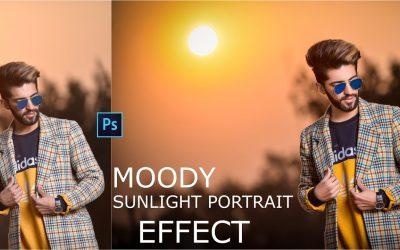 How To Edit Moody Sunlight Portrait Effect in Photoshop Tutorial |2020| JIJ EDITZ | (Haji NewTon)
