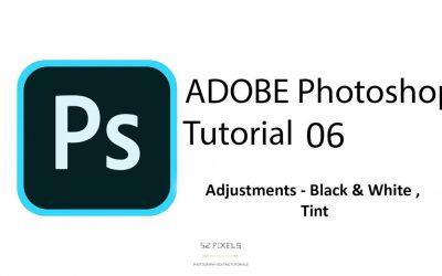 Adobe Photoshop – Tutorial 6 ( Black & White, Tint ) 🔥🔥🔥
