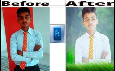 Photo Editing PHOTOSHOP PICS-ART Adobe Photoshop..How to make a  college uniform pic on Photoshop