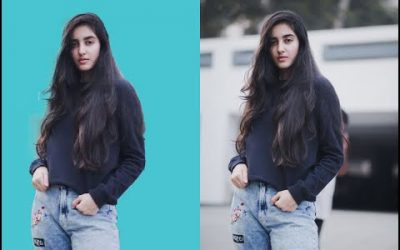 How To Change background In a Solid Color Photoshop Tutorial Easy & Fast