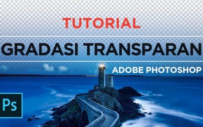 Tutorial Membuat Opacity Mask / Transparency Mask di Adobe Photoshop | Gradasi Transparan Photoshop
