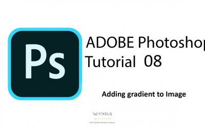 Adobe Photoshop – Tutorial 8 (How to add gradient to image) 🔥🔥🔥