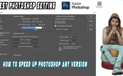 Adobe Photoshop CC Tutorial Very Important Photoshop Settings How To Speed Up Photoshop Preference