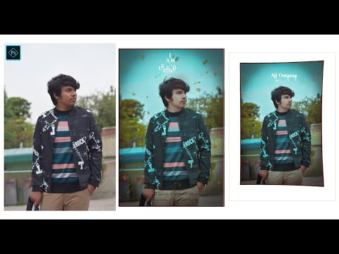 Outdoor High-End Cinematic Colour Grading Editing | Tutorial In Adobe Photoshop CC
