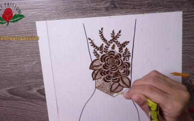 Do It Yourself – Tutorials – Learn to create your own neat and clean Mehendi Design | Within 16 minutes | In Free online class