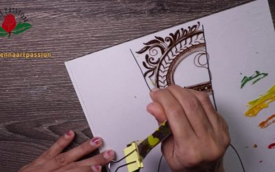Do It Yourself – Tutorials – Learn to create your own neat and beautiful mehendi design | its simple and easy | its FOC