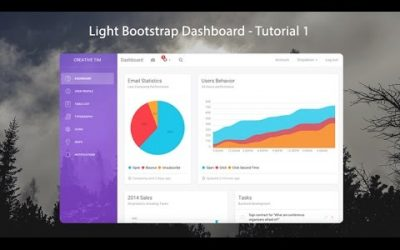 Do It Yourself – Tutorials – How to create a Responsive Admin Template using Light Bootstrap Dashboard – 1/3