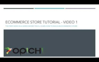Building a simple ecommerce store with WordPress and Woocommerce (April 2020) – Opichi
