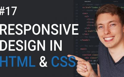 Do It Yourself – Tutorials – 17: How to Make a Website Responsive | Learn HTML and CSS | HTML Tutorial | Basics of CSS