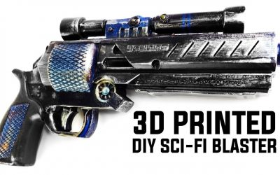 Do It Yourself – Tutorials – 3D PRINTER PROPS: SCI-FI BLASTER DIY