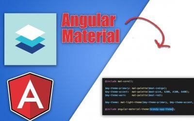 Do It Yourself – Tutorials – Angular Material Custom Theme Tutorial