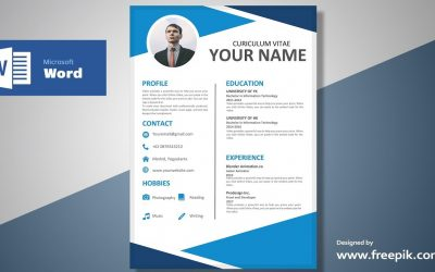 Do It Yourself – Tutorials – Awesome Blue Resume Design Tutorial in Microsoft Word (Silent Version) | CV Designing