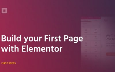 Do It Yourself – Tutorials – Build Your First Page With Elementor Page Builder for WordPress 2018