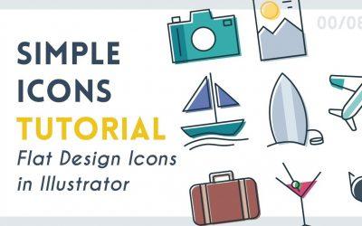 Do It Yourself – Tutorials – Create Simple Icons | Illustrator Tutorial