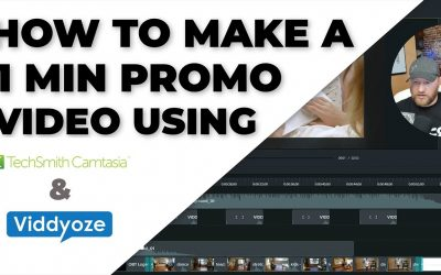 Do It Yourself – Tutorials – Create a one minute promo video easily: Camtasia and Viddyoze step by step tutorial
