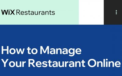Do It Yourself – Tutorials – How to Take Your Restaurant Online| Wix.com