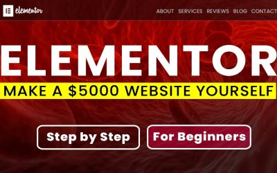 Do It Yourself – Tutorials – How to make a $5000 WordPress Website 2020 | Elementor Tutorial for Beginners